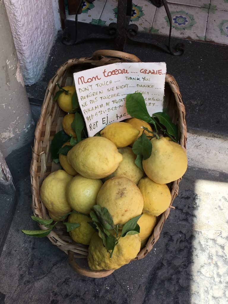 Limoni d'Amalfi