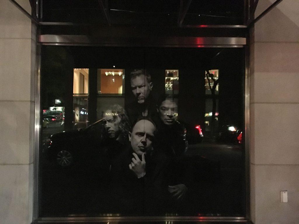 Pubblicità con i Metallica