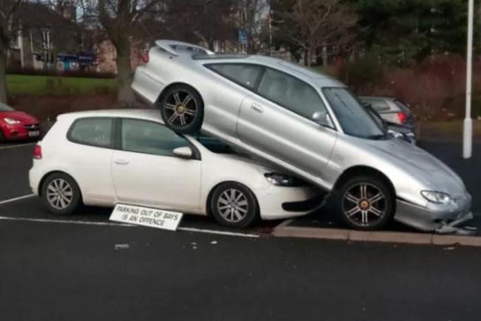parcheggio disperato