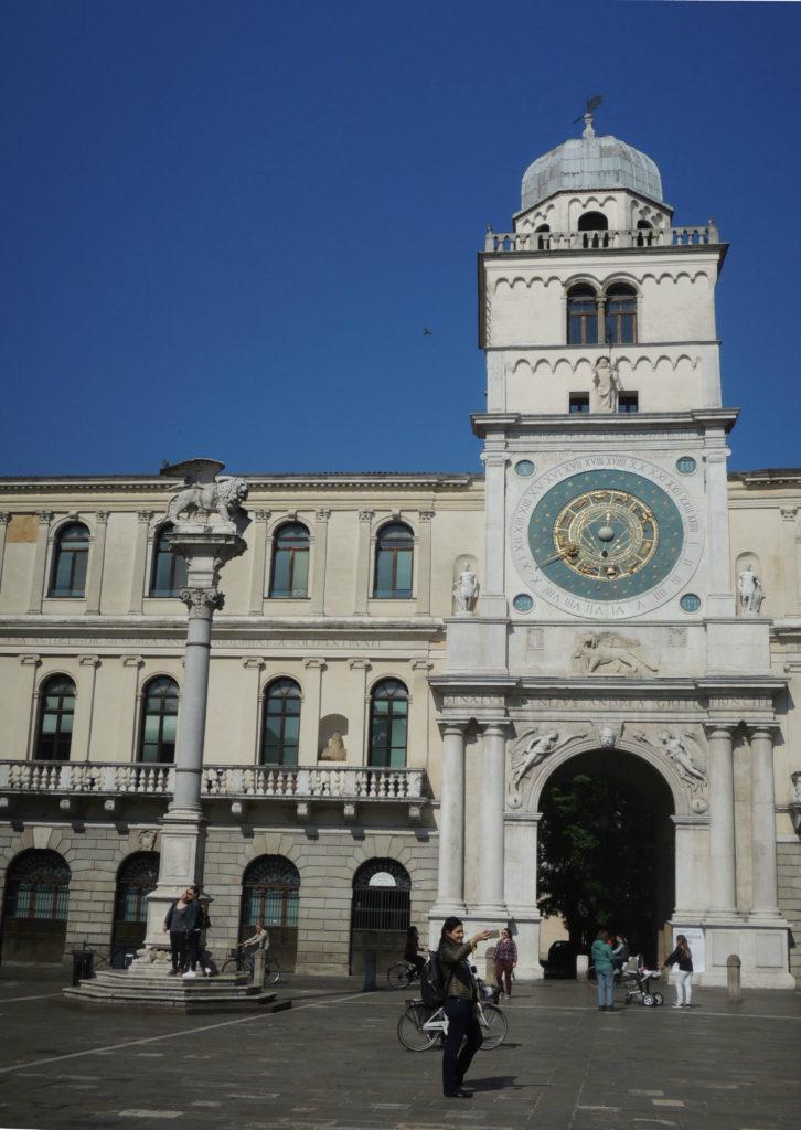 Torre dell'orologio a Padova