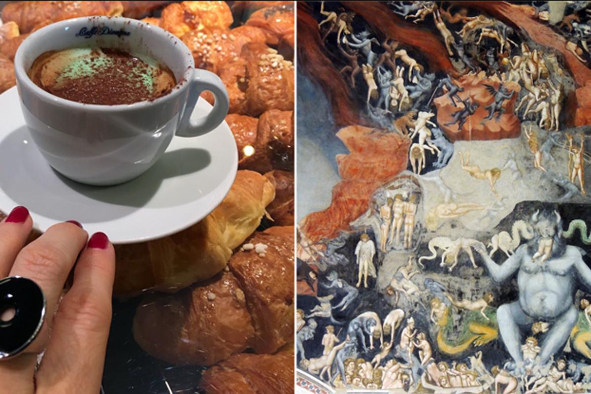 Padova, dal paradisiaco caffè Pedrocchi all'Inferno di Giotto