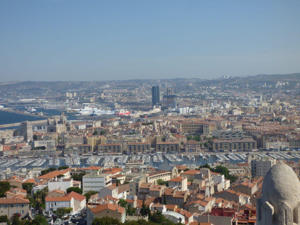 Marsiglia dall'alto