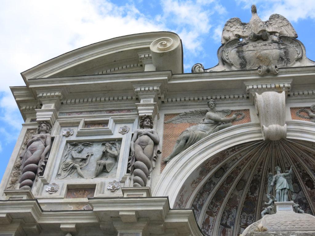 La fontana dell'organo, particolare