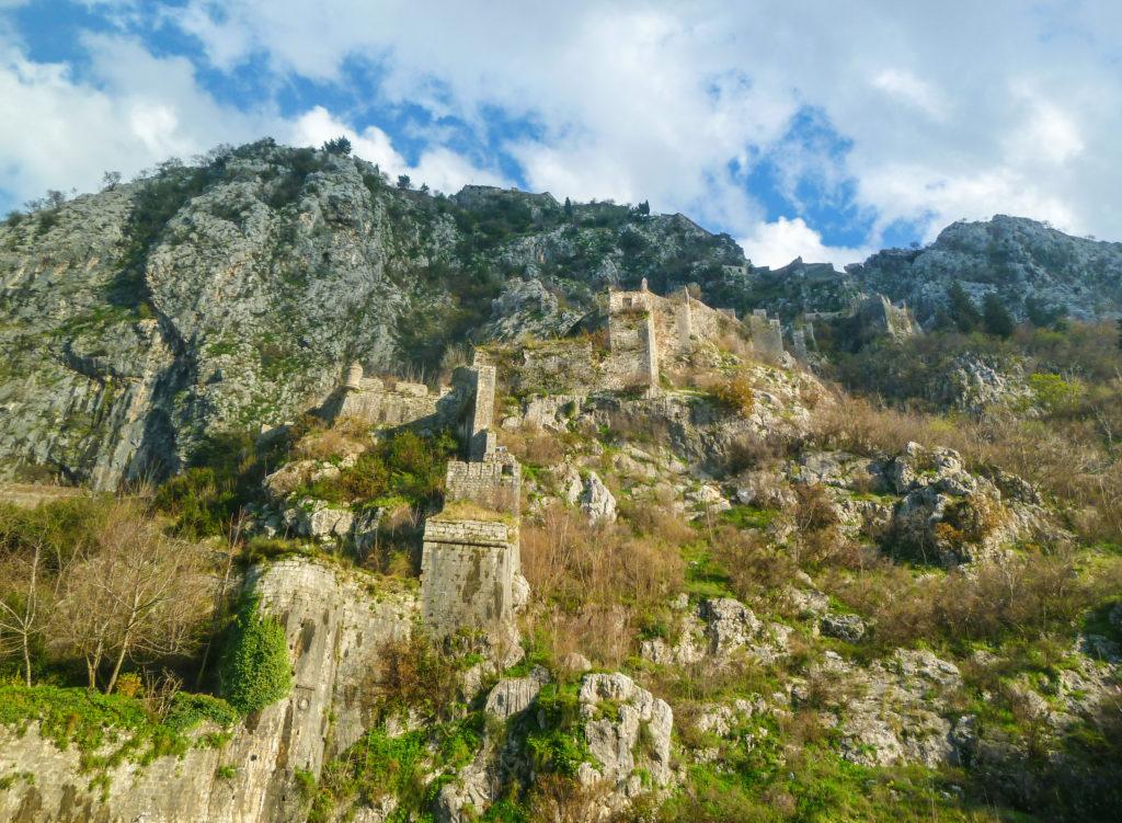 le mura di Kotor
