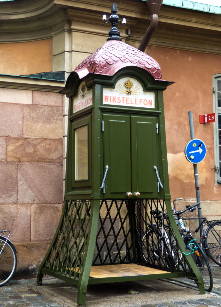 cabina telefonica di Stoccolma