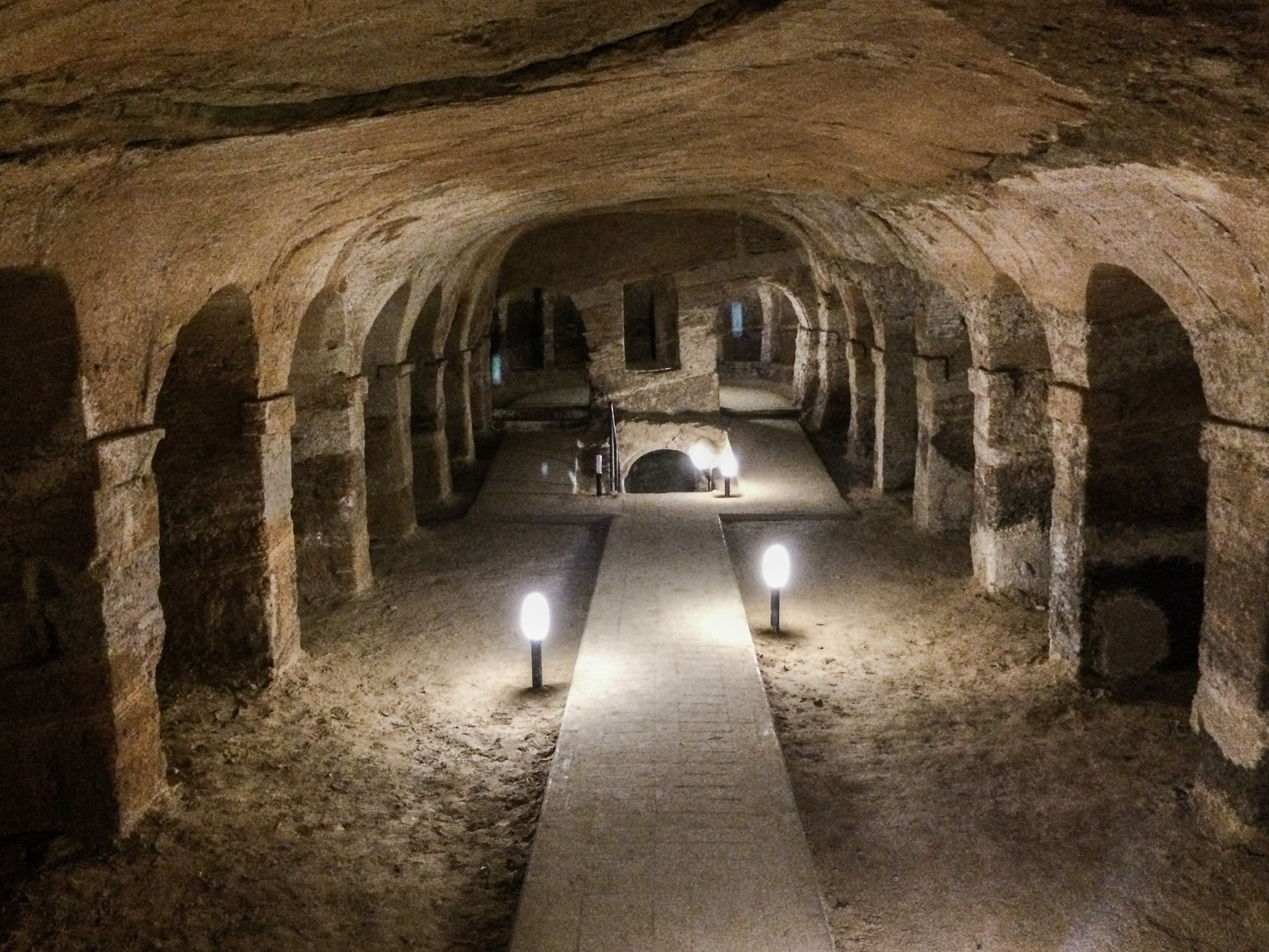 Le grotte di Camerano, una città nel sottosuolo