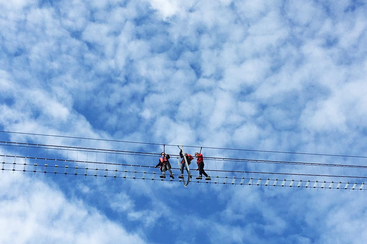 Ponte alla Luna, l'emozionante ponte tibetano in Basilicata