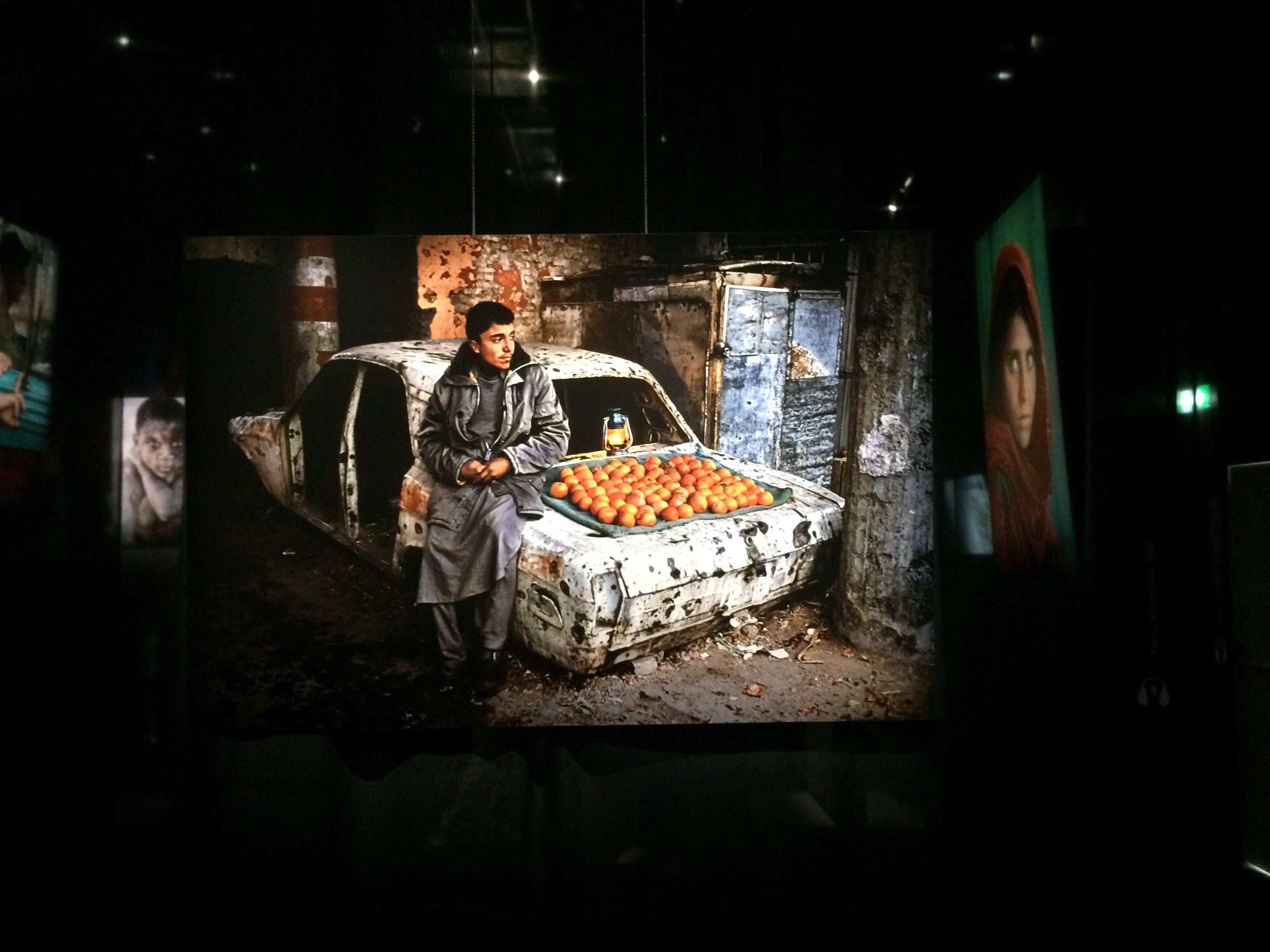 Sulle orme dell'artista, McCurry in mostra a Roma