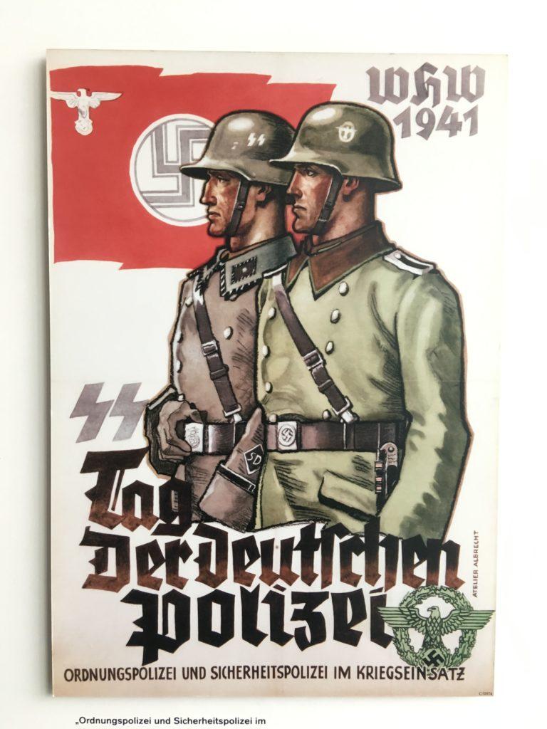 Manifesto d'epoca nazista