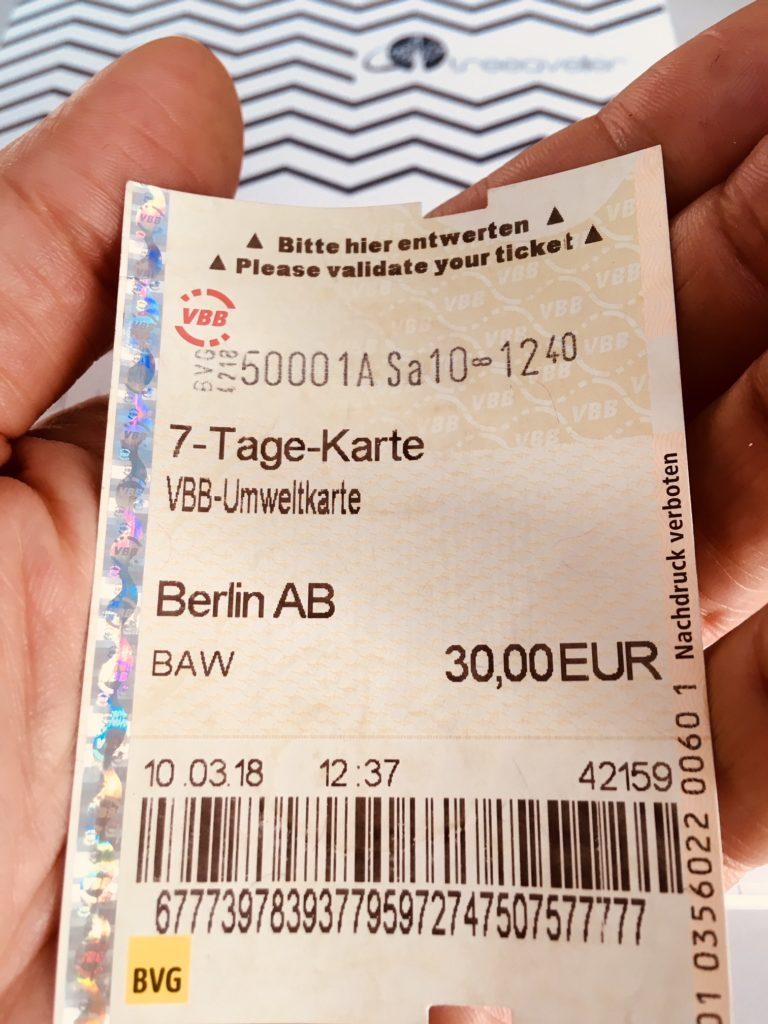 Abbonamento settimanale Berlino