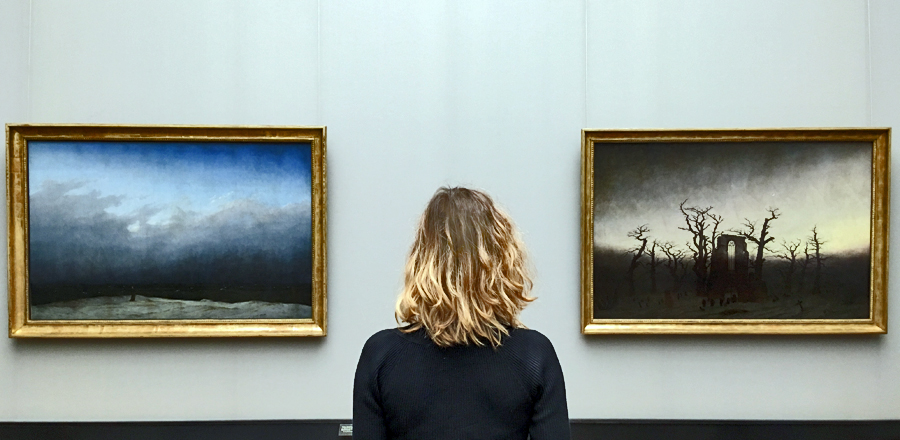 Alla Alte Nationalgalerie in contemplazione di due capolavori di Caspar David Friedrich