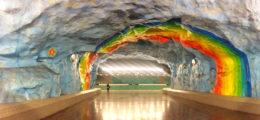 Metropolitana di Stoccolma, guida (con foto) all'arte del sottosuolo