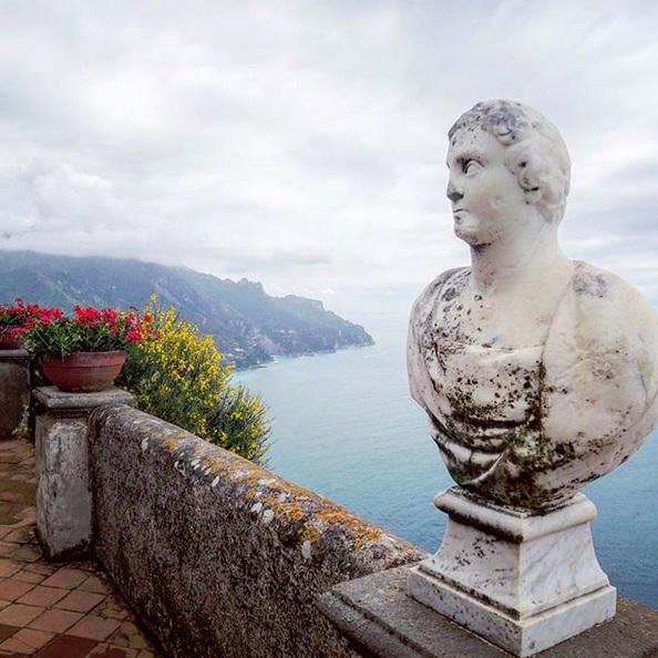 Panorama da Villa Cimbrone