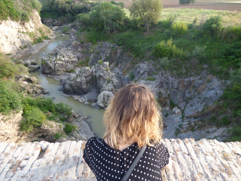 Panorama dal Ponte del Diavolo di Vulci