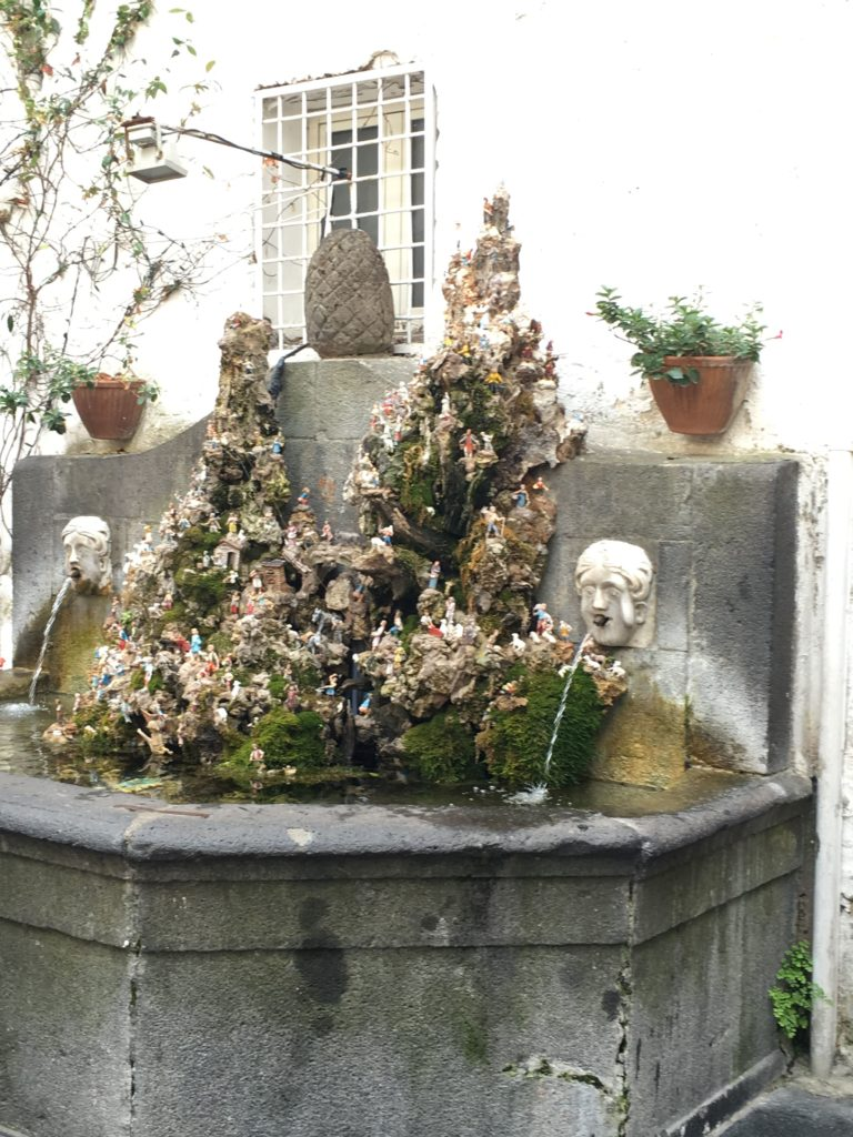 Presepe Fontana 'Cap è ciuccio'
