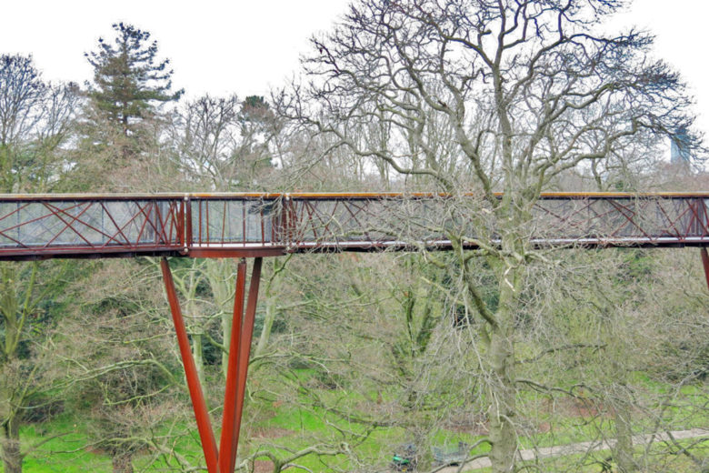 Treetop walkway kew garden