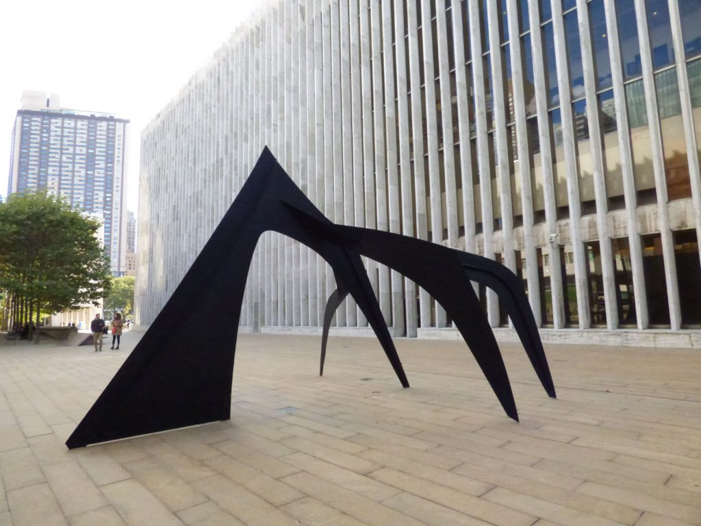 Itinerario a New York Stabile di Calder