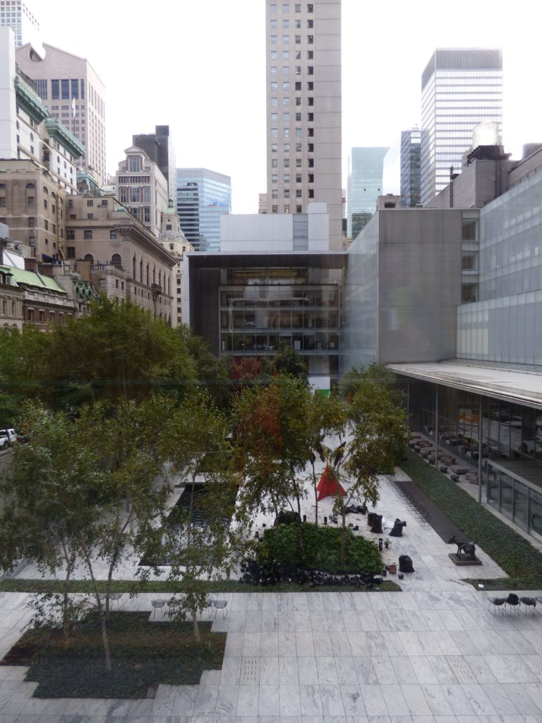 Itinerario a New York Sculpture Garden del MOMA