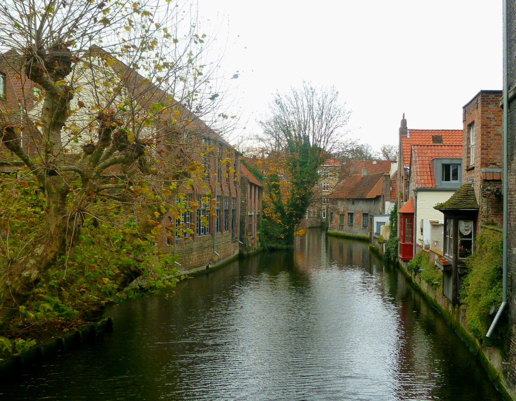 Canale a Bruges