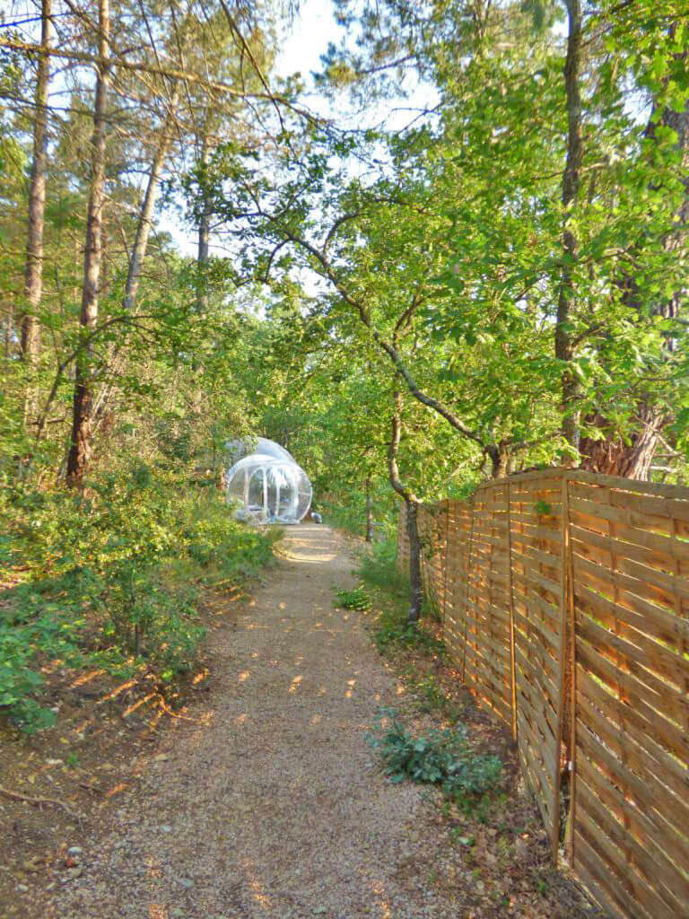 glamping in provenza