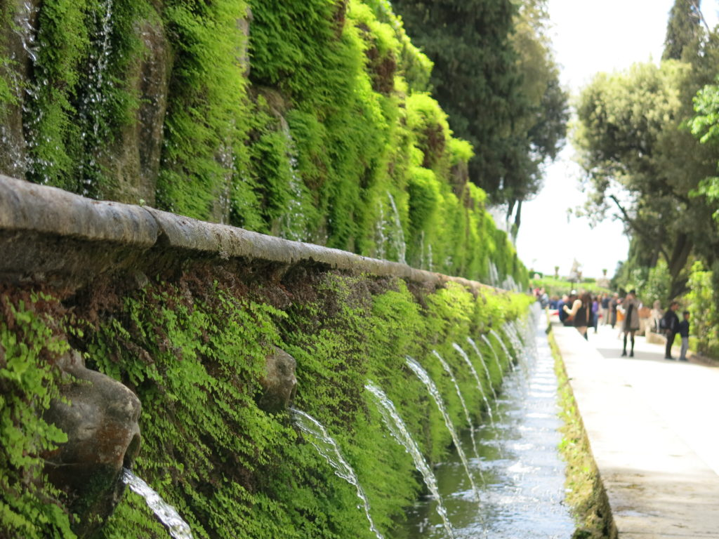 Le cento fontane di Villa d'Este