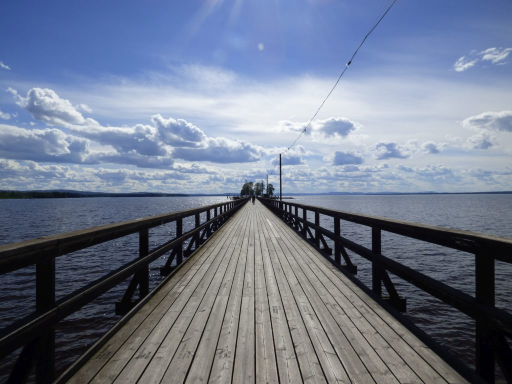 Långbryggan nella Svezia centrale