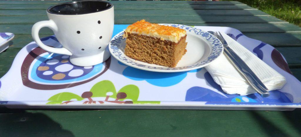 Caffè e torta