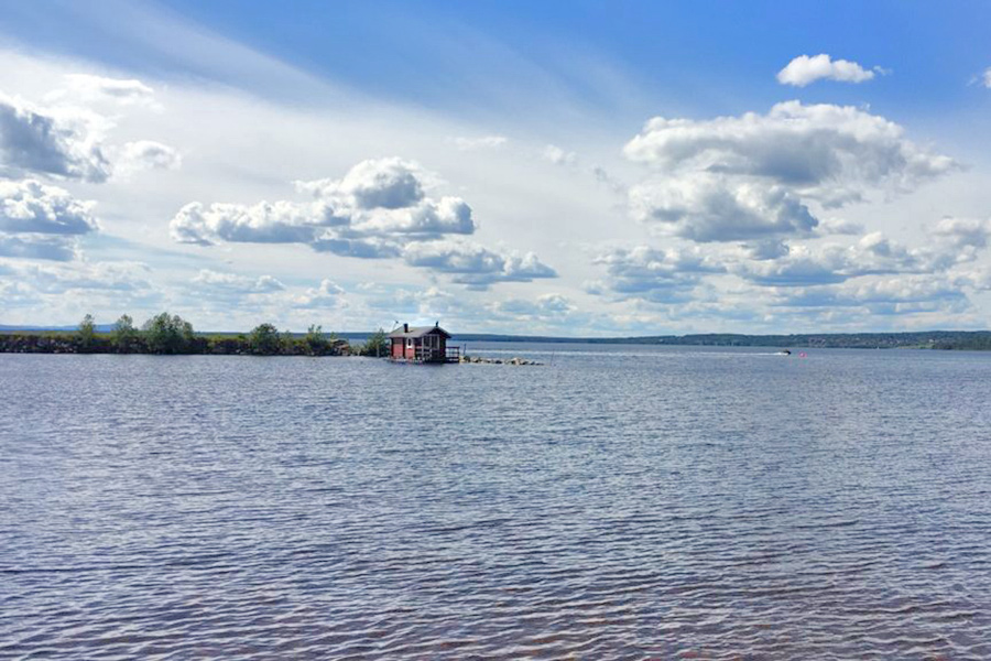 Svezia lago