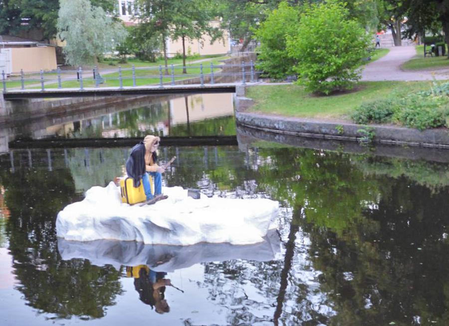 Stadsparken Orebro Svezia