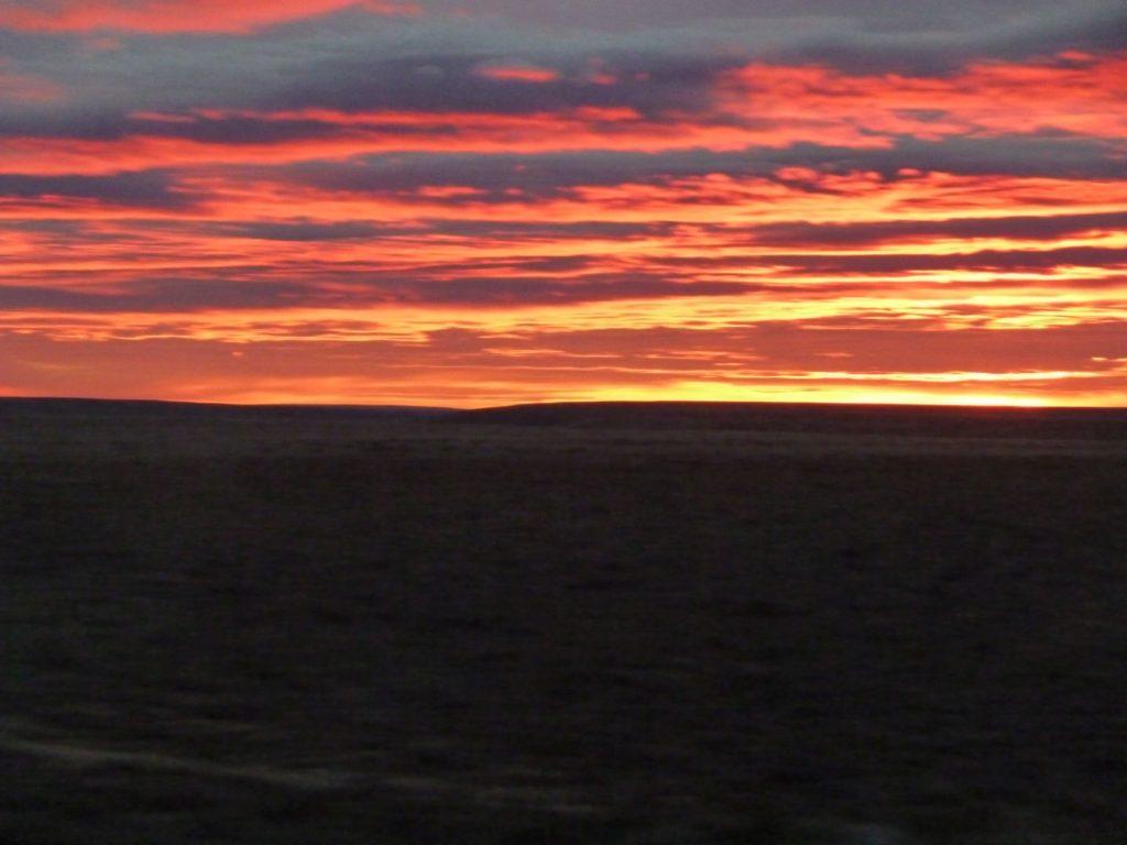 tramonto cileno