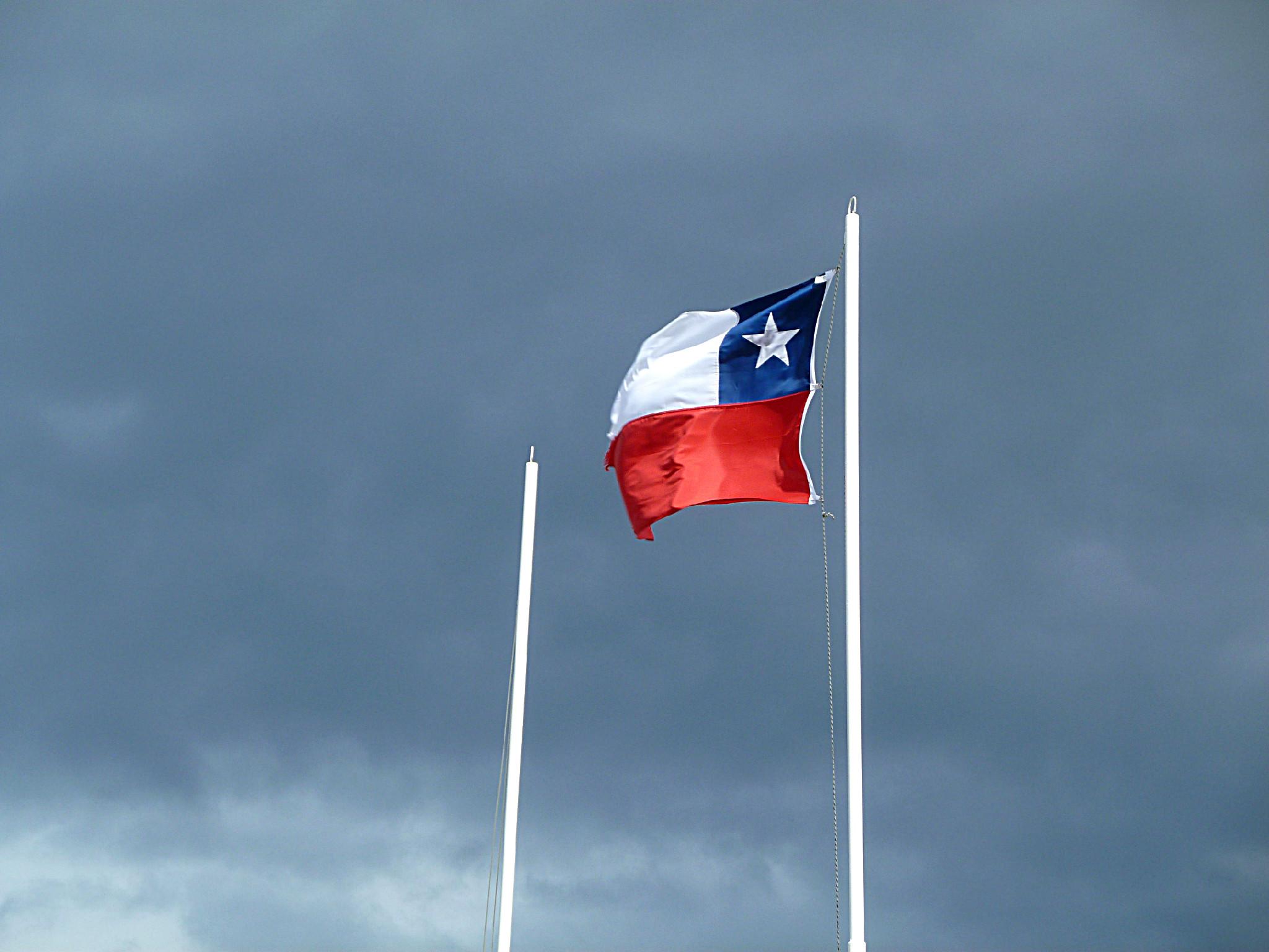 La bandiera del Cile
