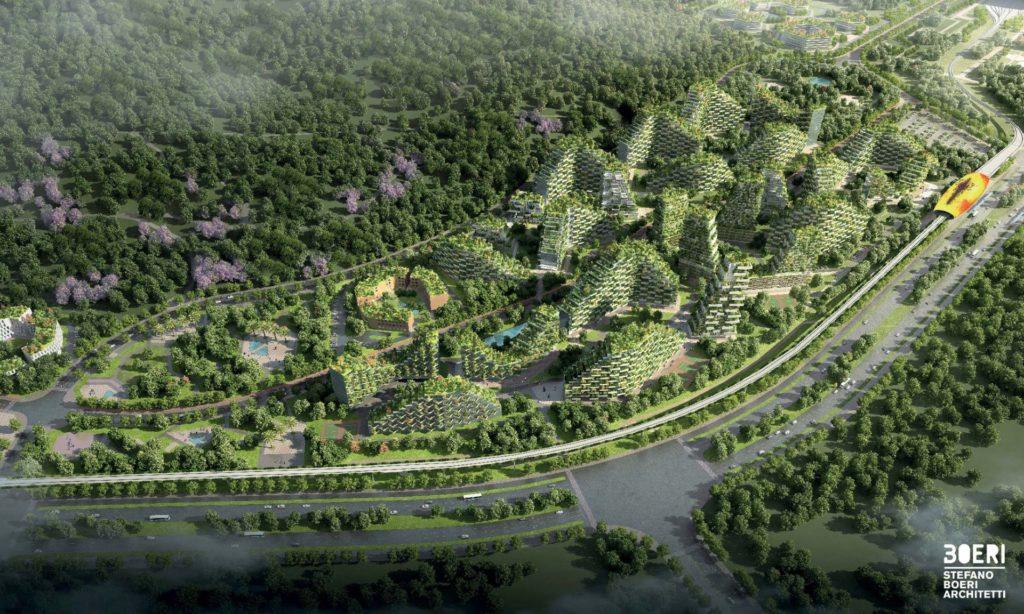 architettura verde - Città foresta Studio Boeri