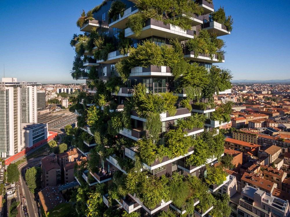 architettura verde Bosco Verticale Milano