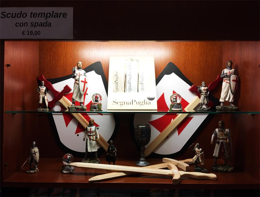 Kit del piccolo Templare a Castel del Monte