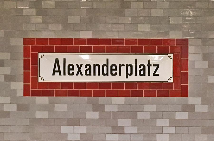 Berlino consigli utili: Alexanderplatz Uban