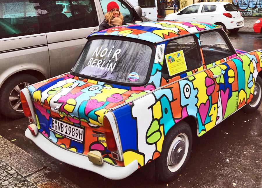 Berlino consigli utili: Auto colorata a berlino