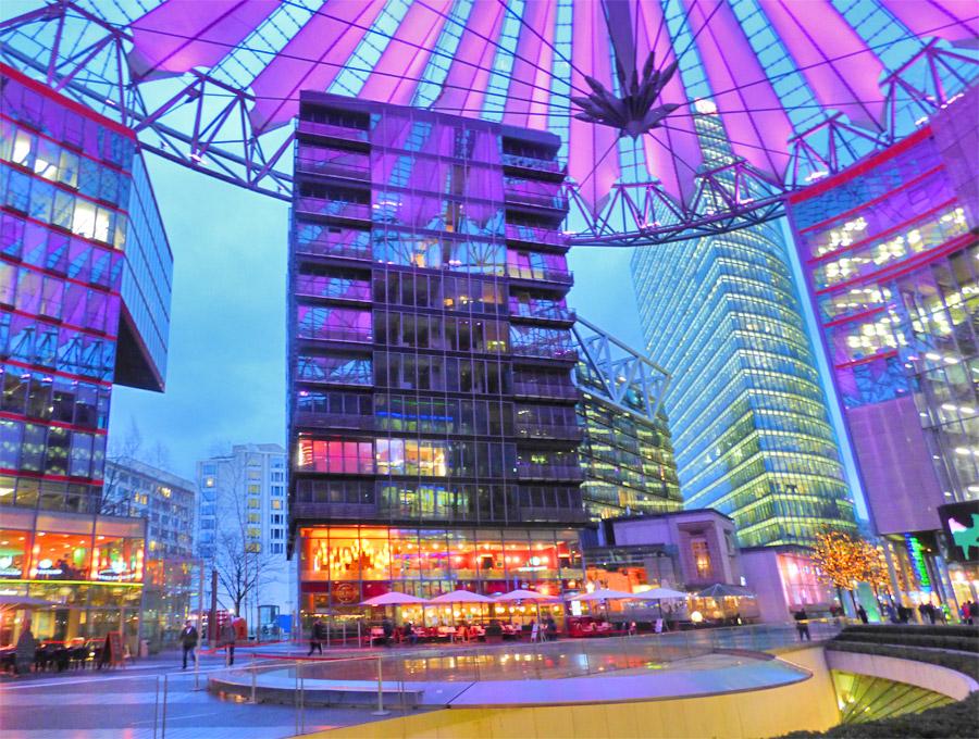 Sony Center Berlino Gratis