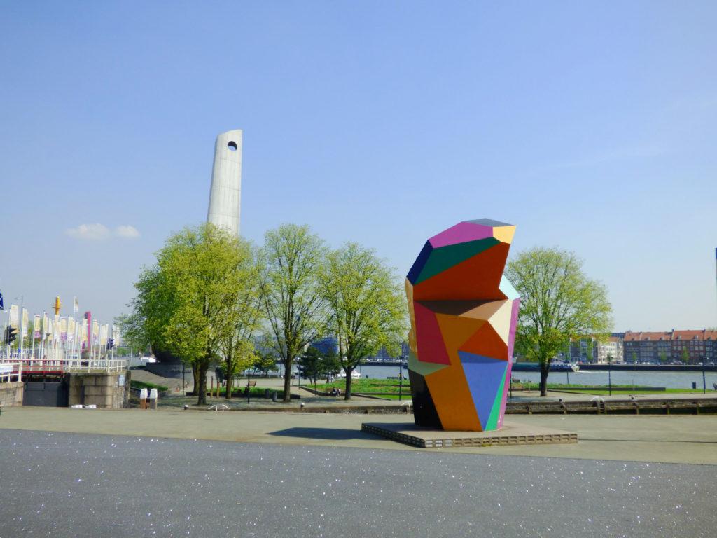 Rotterdam sculptures