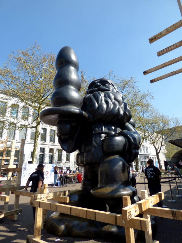 Rotterdam babbo Natale nero