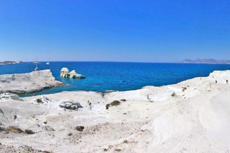 sarakiniko milos grecia