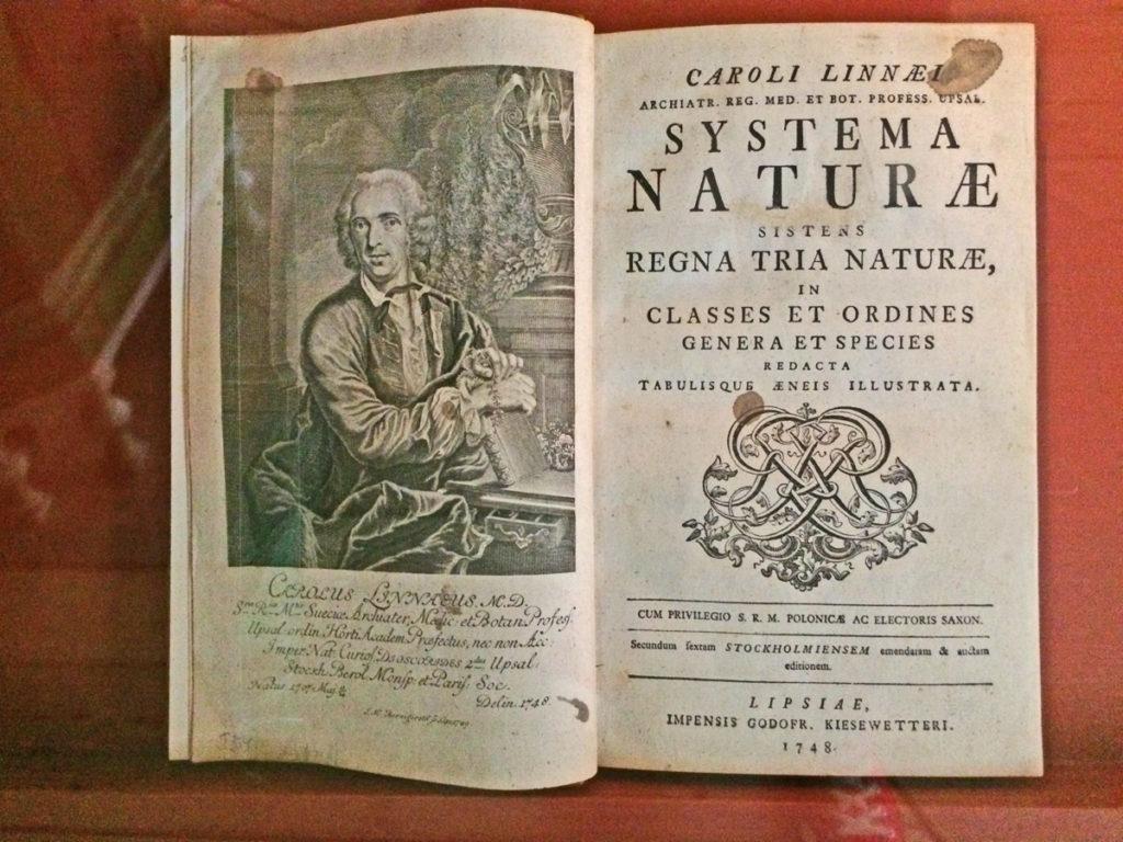 Systema naturae Linneo