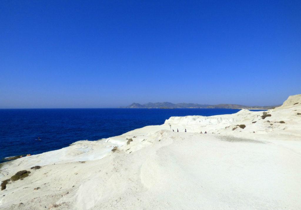 spiagge di milos sarakiniko