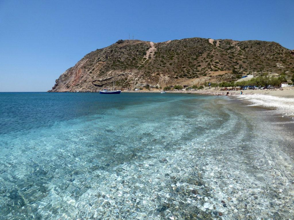 spiagge di milos sud
