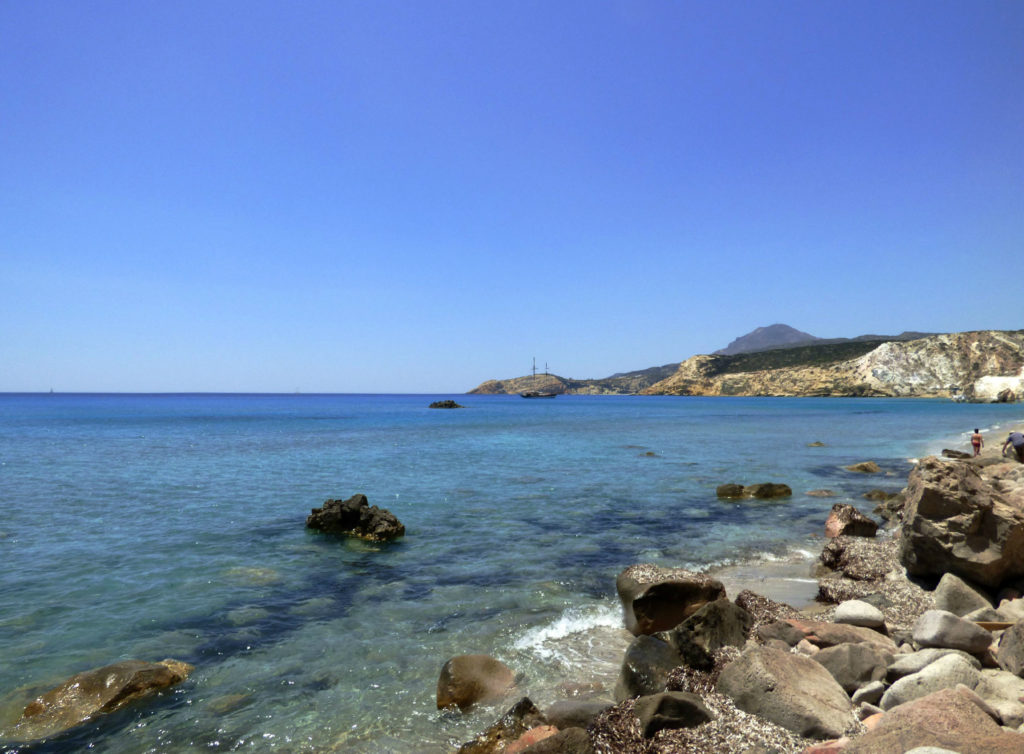 spiagge di milos