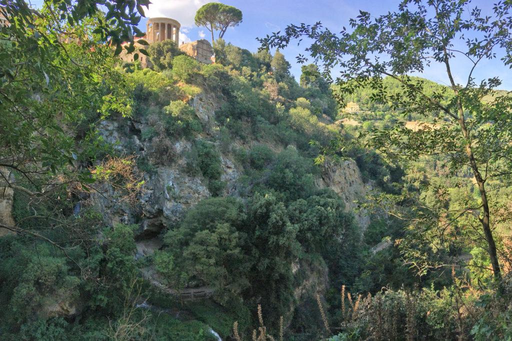 Villa Gregoriana a Tivoli (Roma)