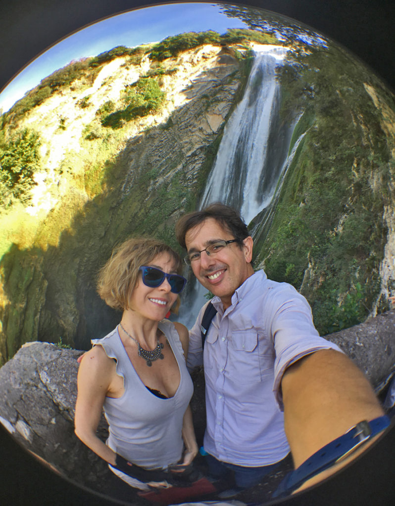 La Grande Cascata di villa Gregoriana