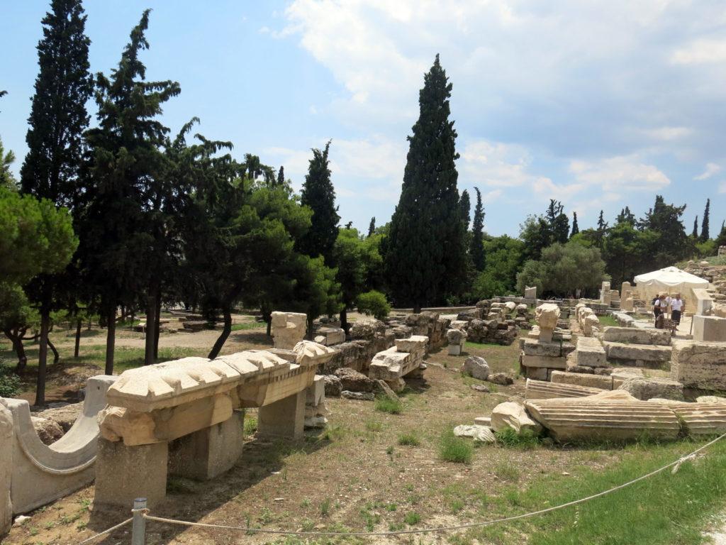 rovine di un tempio
