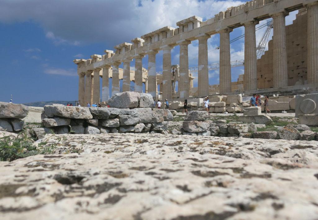 acropoli di atene Partenone
