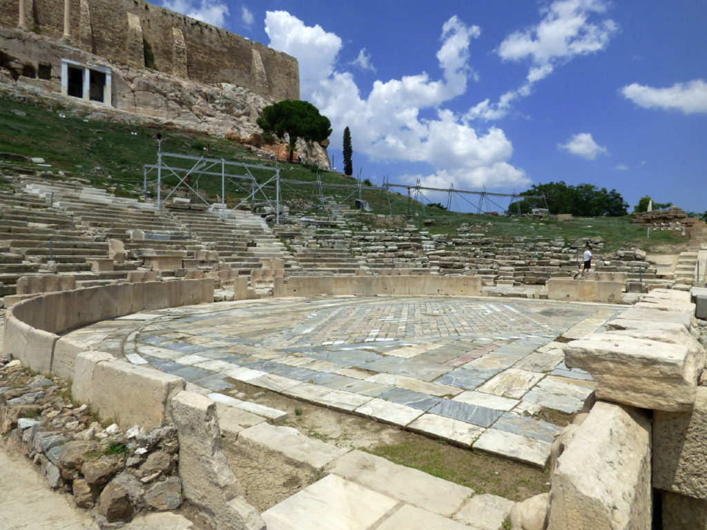 Acropoli di Atene Teatro di Dioniso
