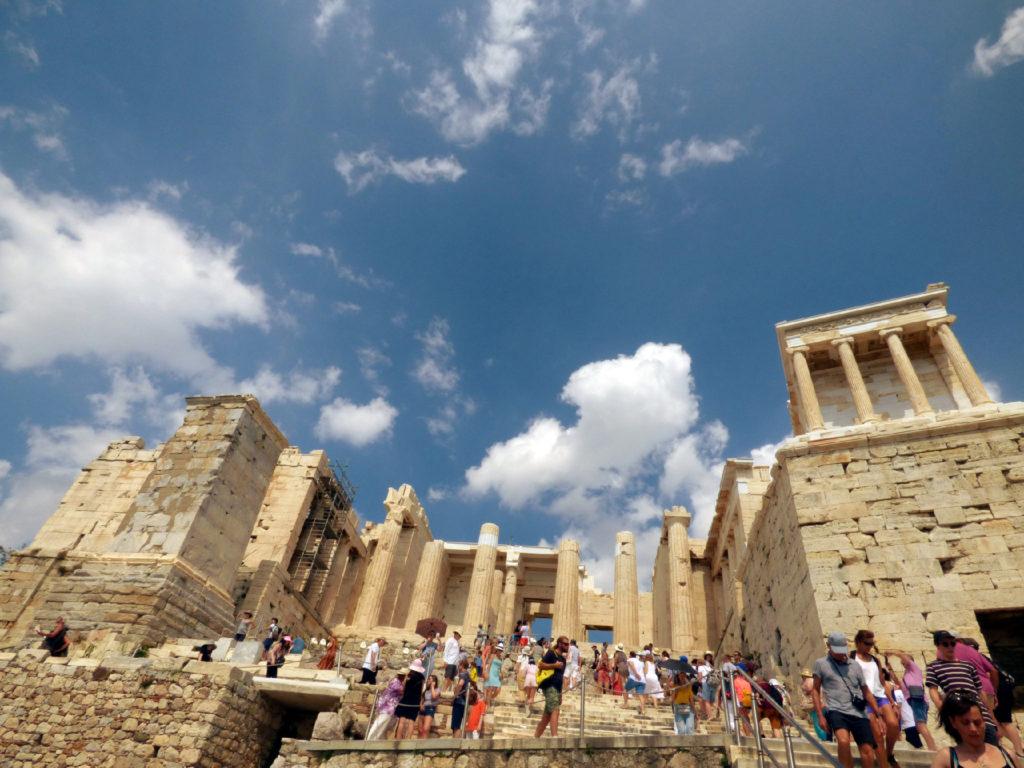 Acropoli di Atene Propilei